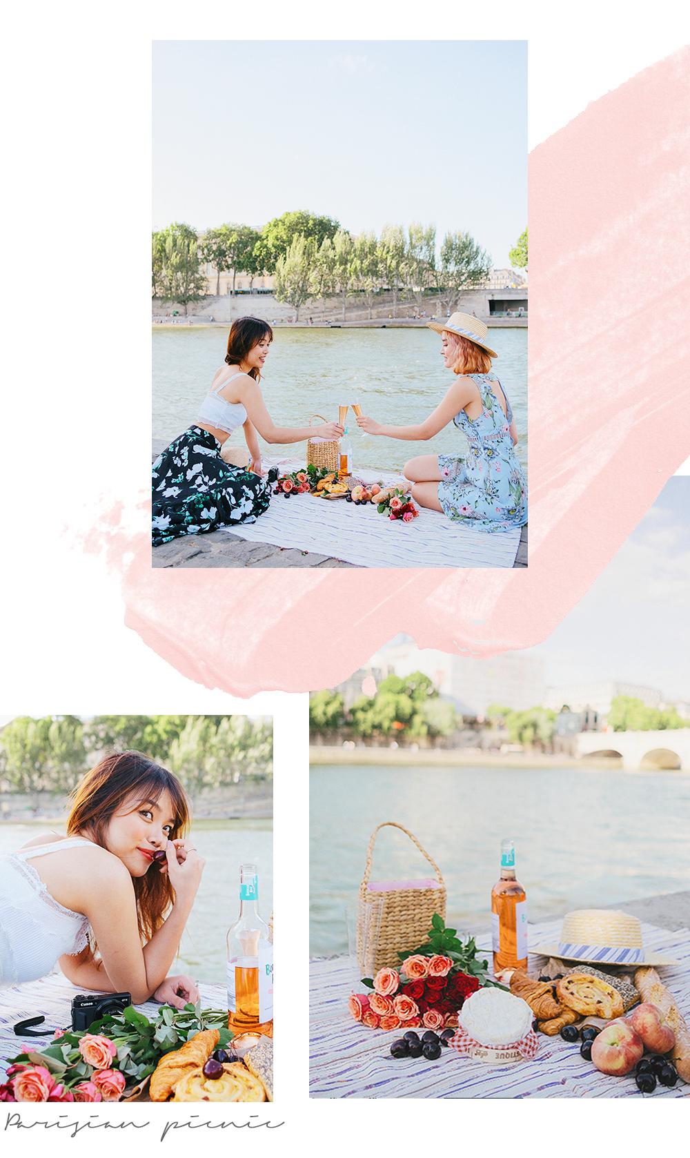 Parisian summer picnic