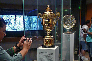 London - Wimbledon Museum Singles trophies