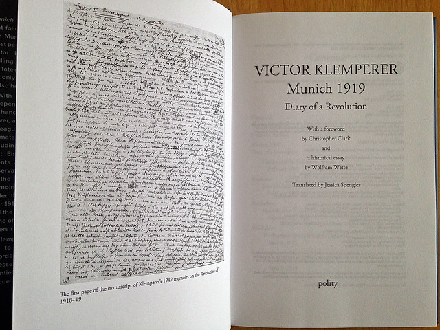 Victor Klemperer - translated by me!
