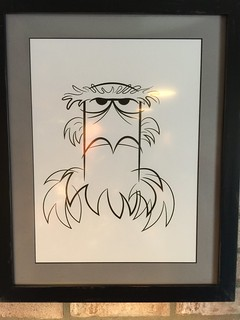Sam the Eagle Caricature | by Disney, Indiana