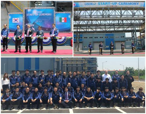 Se inaugura la primera inversión industrial mexicana en Corea del Sur