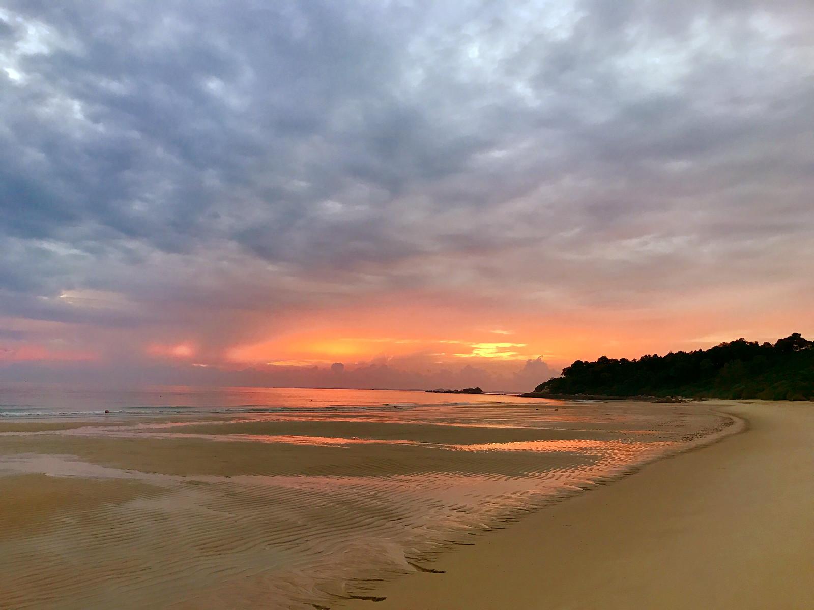 sunrise 545 am