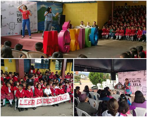 México país invitado de la Primera Feria del Libro Infantil de Xela