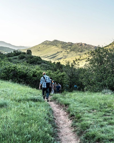 Heading to a full moon hike in South Valley Park. Most welcome during this heat wave. Stop at 12399 W Deer Creek Canyon Road one hour before sunset, then head to Coyote Song Trail, Lyons Back on the right, Columbine left, Cathy Johnson right, loop back on | by sebastien.barre