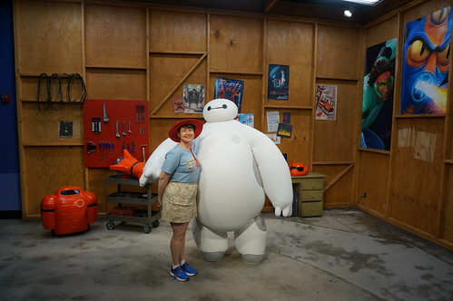 Tracey and Baymax | by Disney, Indiana