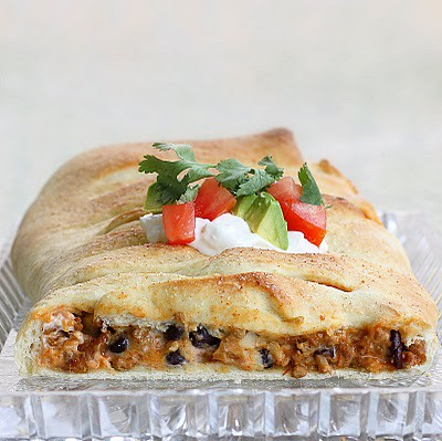 Homemade Taco Bread Braid