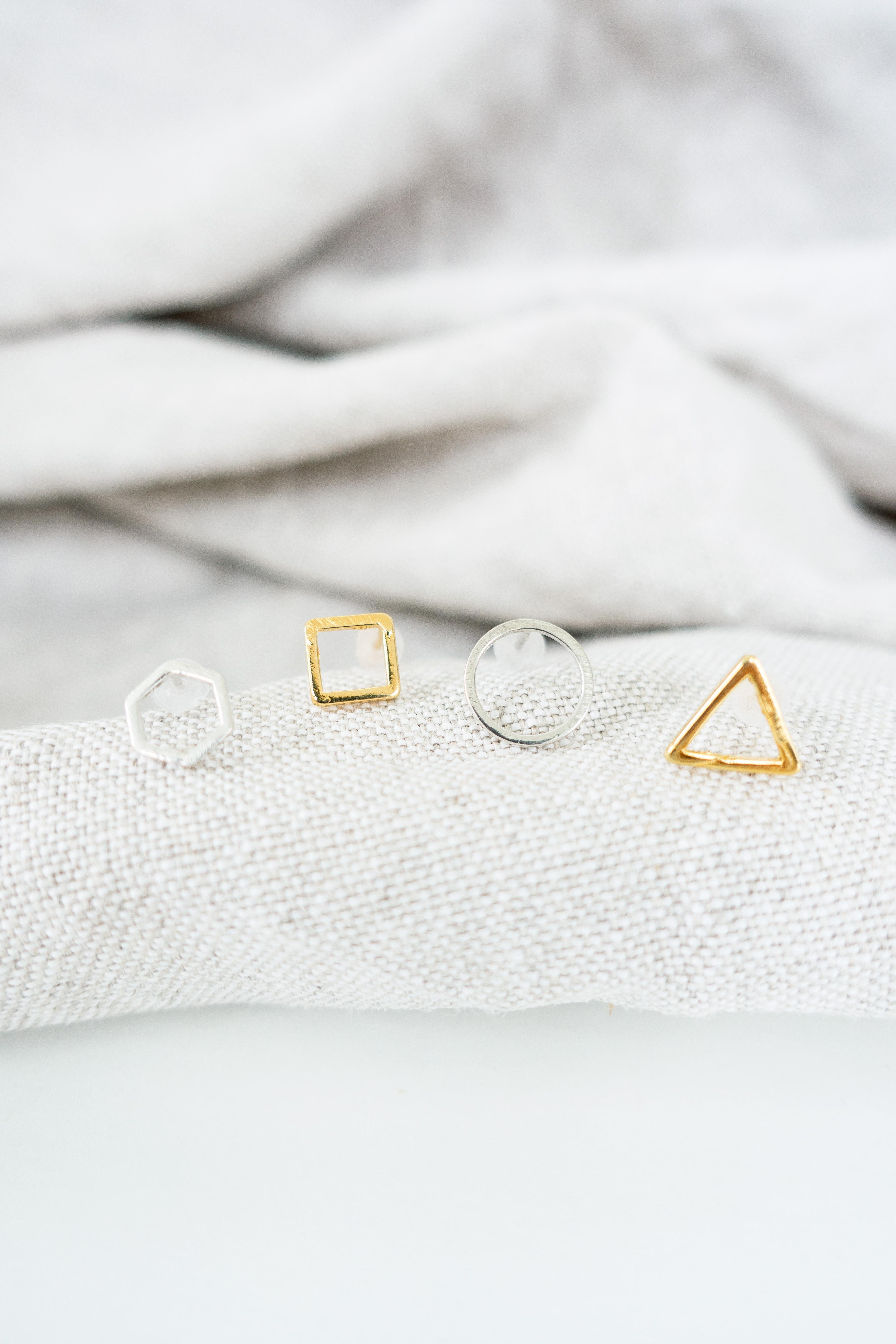 Introducing: Geometric Stud Earrings