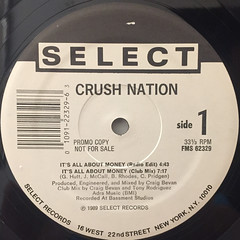 CRUSH NATION:BUT, I WAS COOL(LABEL SIDE-B)