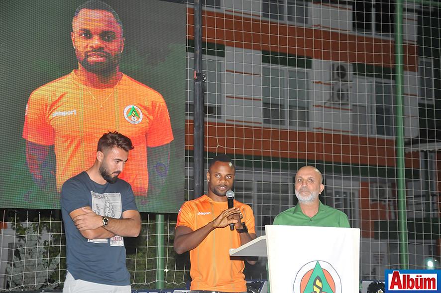 Alanyaspor'un yeni transferi Etame Mbilla