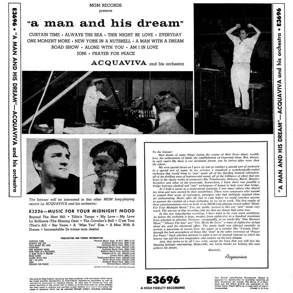 Acquaviva - A Man and His Dream