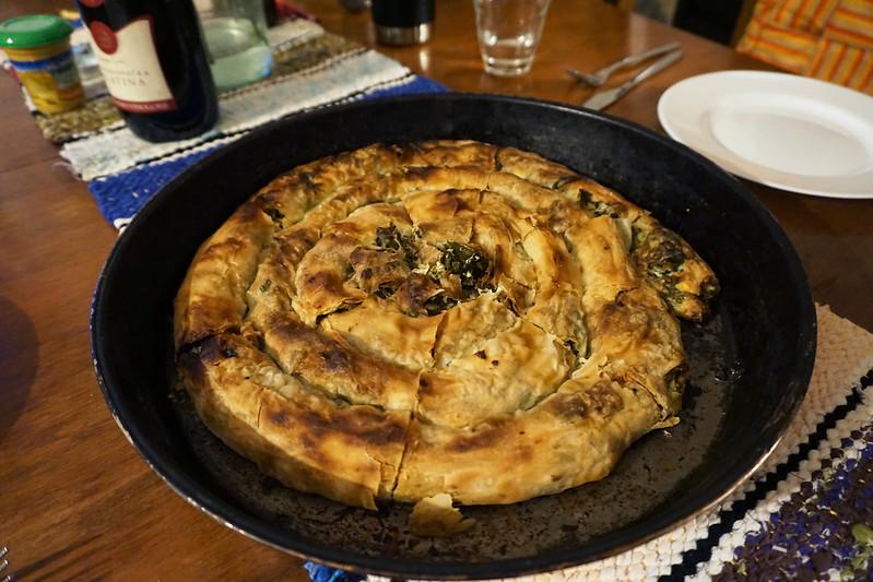 burek in mostar - cooking class