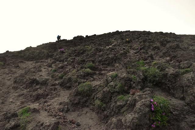 高千穂峰登山 岩場