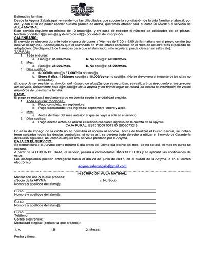 Carta aula matinal 2017 BILINGÜE 1 HOJA_Página_1