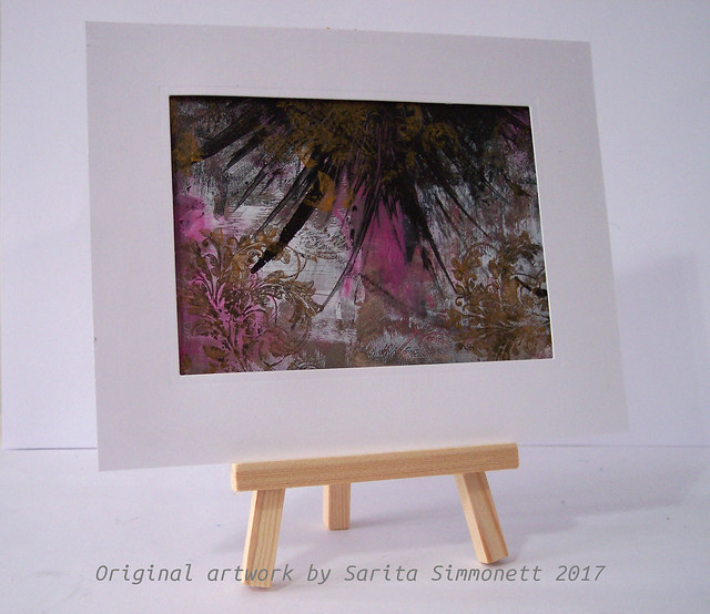 mini art abstract art 2c