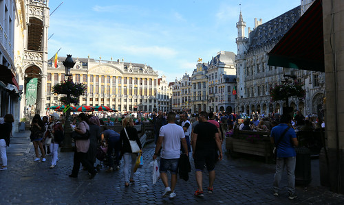 A walk in Brussels