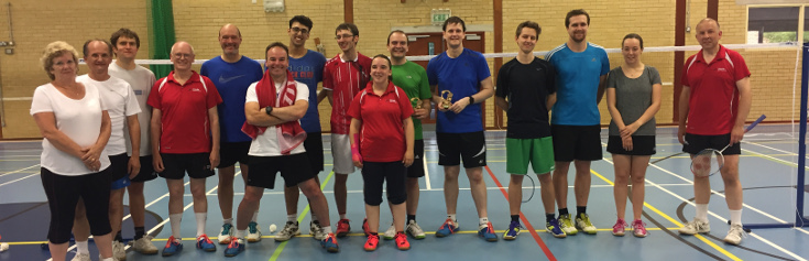 Pittville Badminton Club Handicap Tournament 2017