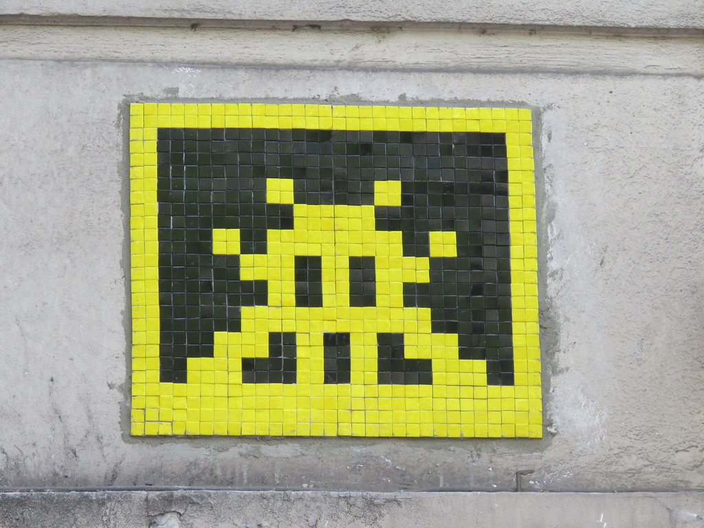 Space Invader PA_991 | Reactivated & destroyed again in june… | Flickr