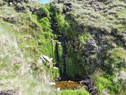 Waterfall on Ashton Clough