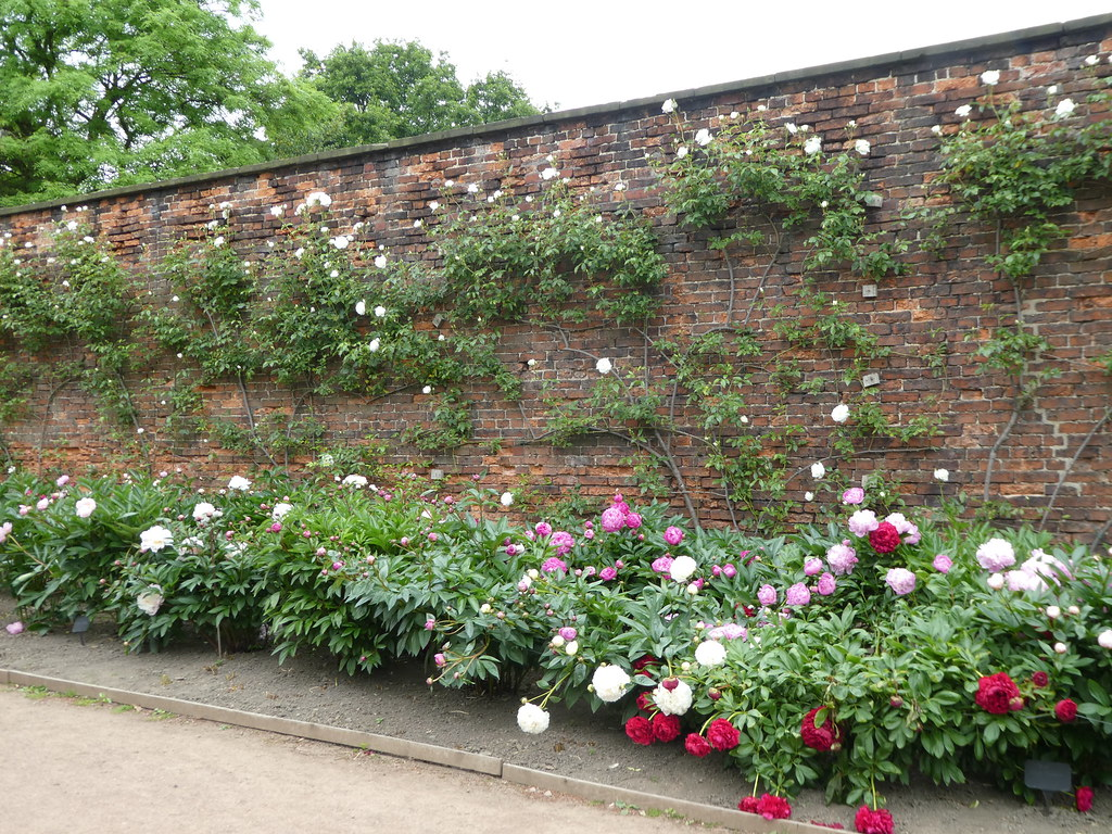 Walled flower garden at Nostell Priory