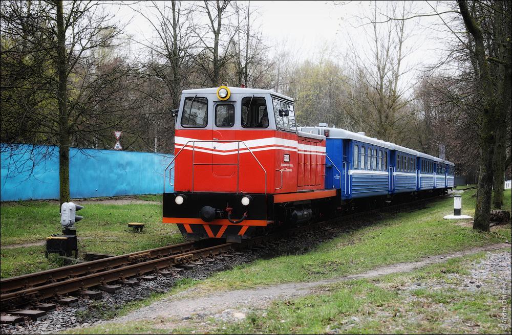 Поезд Детской железной дороги