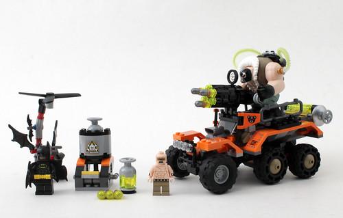 The LEGO Batman Movie Bane Toxic Truck Attack (70914)