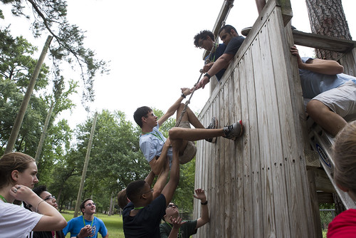 Session 1 Ropes Course