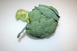 03 - Zutat Broccoli / Ingredient broccoli