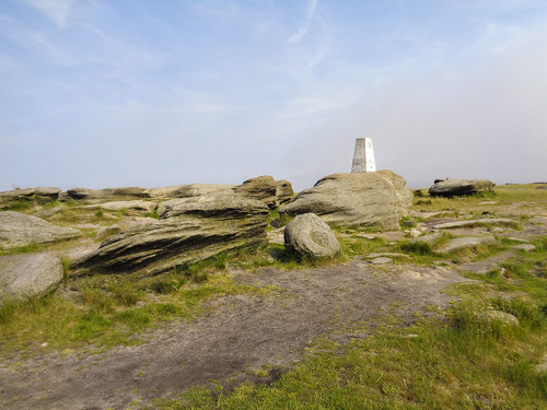 The Kinder Low trig point