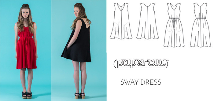 papercut sway dress