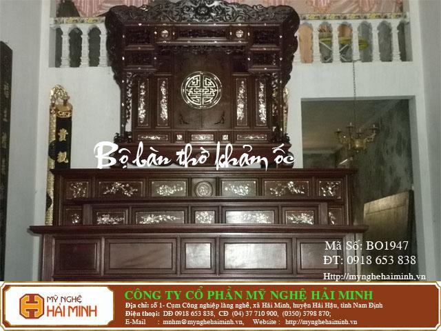 Kích thước bàn thờ Gia Tiên hợp phong thủy tâm linh  16