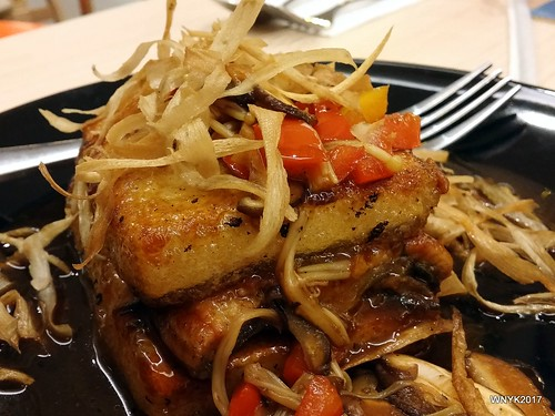 Beancurd with Mixed Mushrooms