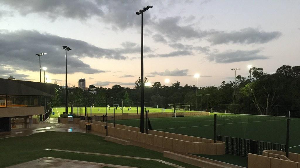 Uq Synthetic Fields Precinct University Of Queensland St