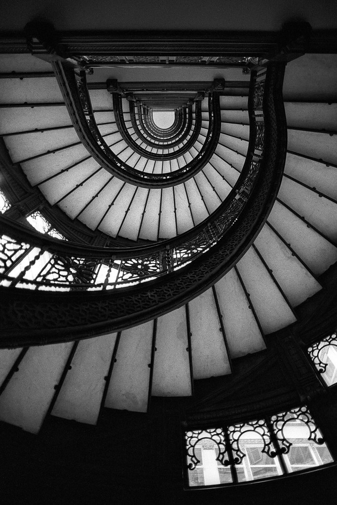 Charmant By Eyetwist Staircase. Chicago, Il. 1997. | By Eyetwist