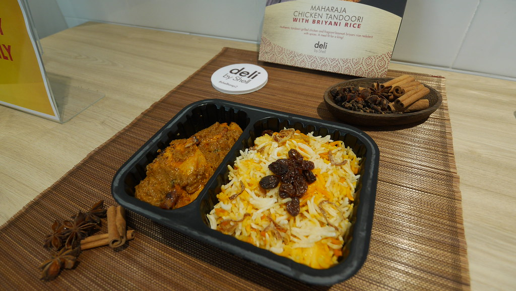 Maharaja Chicken Tandoori with Biryani Rice.