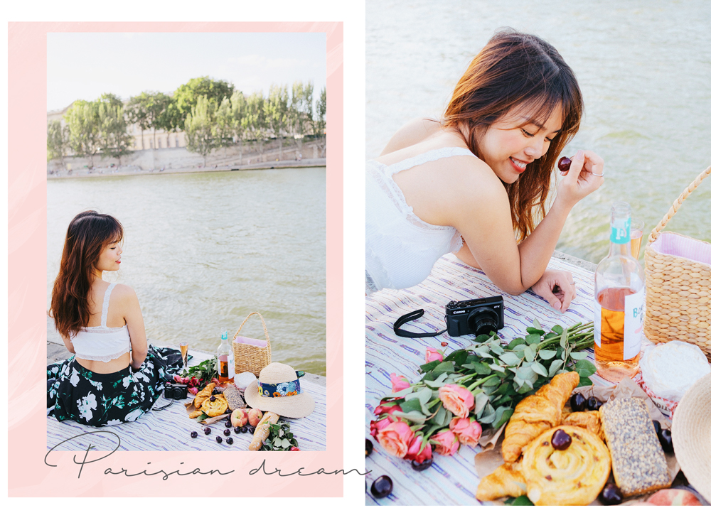 Liên Anh picnic in Paris