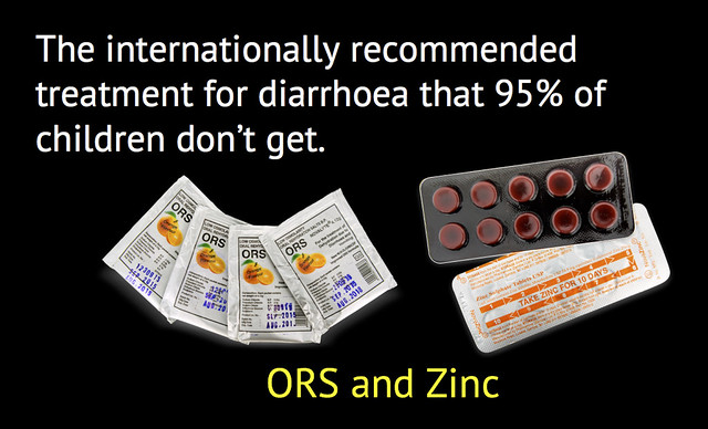 ORS and Zinc - the international recommendation for the treatment of diarrhoea