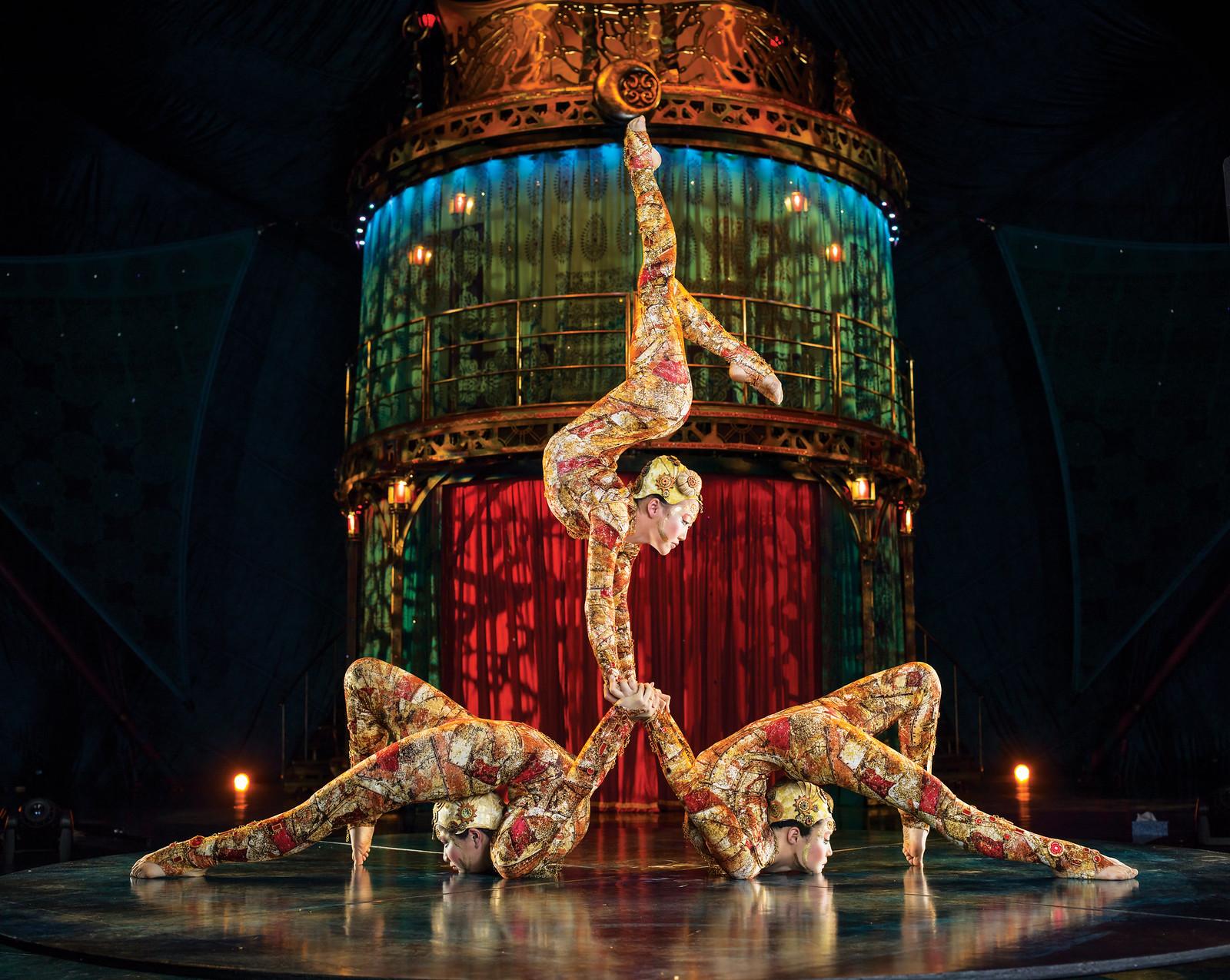 Contortion | Photos: Matt Beard Costumes: Marie-Chantale Vaillancourt ©2012 Cirque du Soleil