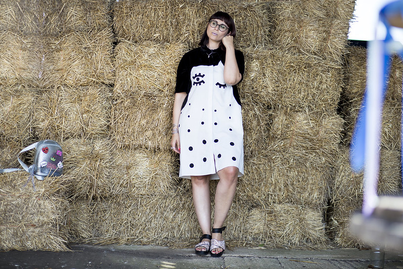 the whitepepper face dress