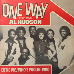 ONE WAY featuring. al AL HUDSON:CUTIE PIE(JACKET A)