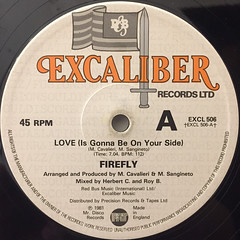 FIREFLY:LOVE(IS GONNA BE ON YOUR SIDE)(LABEL SIDE-B)