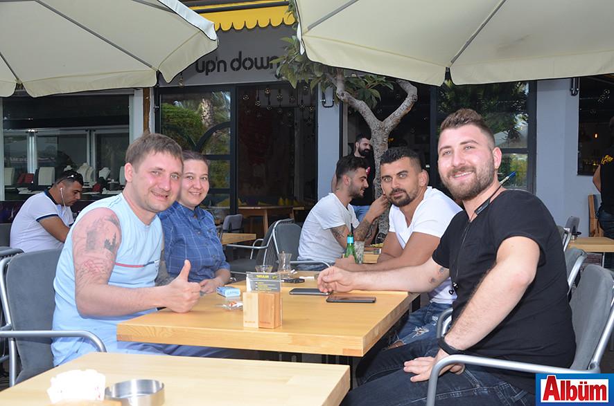 Vasilli Suvorov, Olya Suvorov, Hüseyin Göktepe, Cihat Doğan