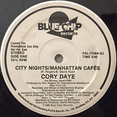 CORY DAYE:CITY NIGHTS:MANHATTAN CAFES(LABEL SIDE-A)