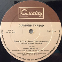 DIAMOND THREAD:SEARCH YOUR LOVE(LABEL SIDE-B)