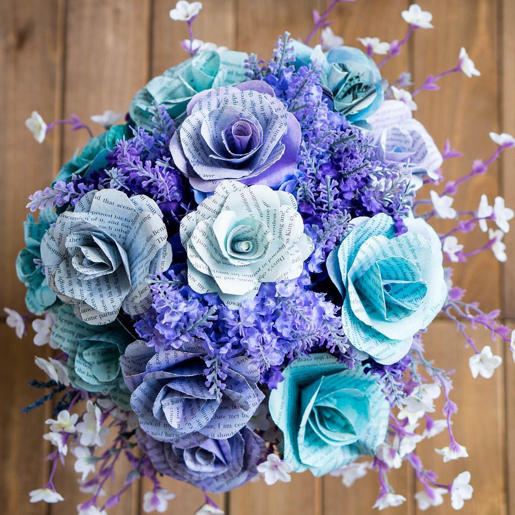 Book Flower Bouquet Cookingalamel Cookingalamel Flickr