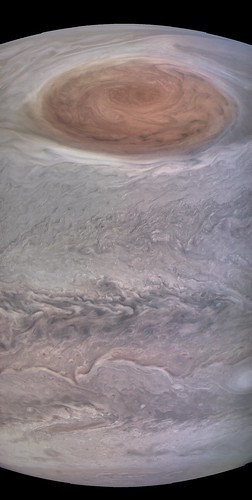Jupiter and the Great Red Spot - Juno Perijove 7 | by Kevin M. Gill