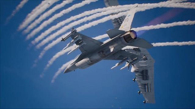 Ace Combat 7 - manovre evasive