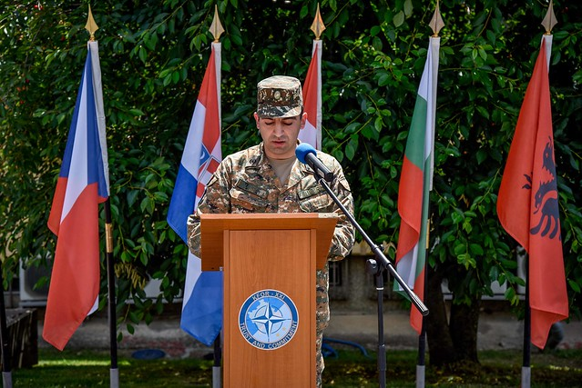 Armenian Contingent Change of Command