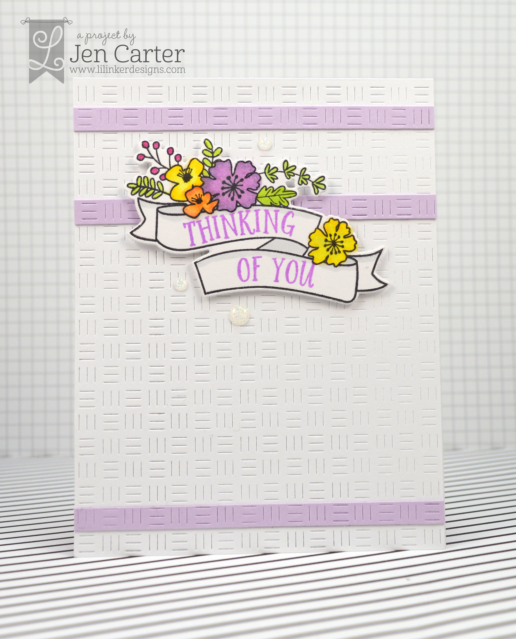 Jen Carter Blossoms Banners Thinking You 1 wm