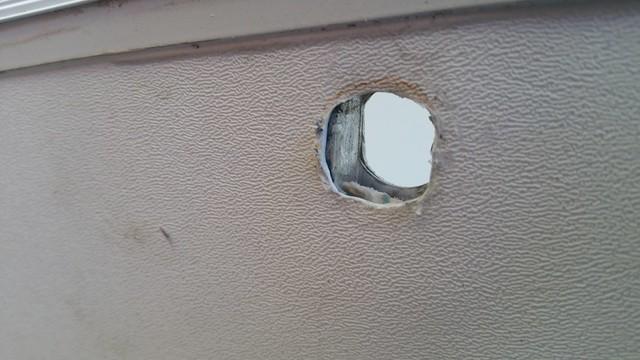 Door - internal latch support