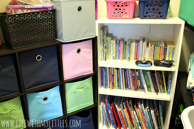 Love this idea for simple toy organization for kids! And those Cars 3 toys look so fun!!